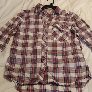 Long sleeve thin button up
